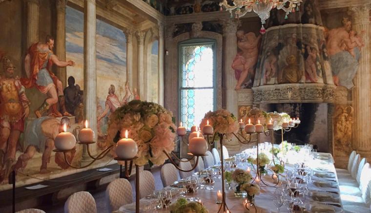 Sala Con Camino_Villa Colleoni_Thiene