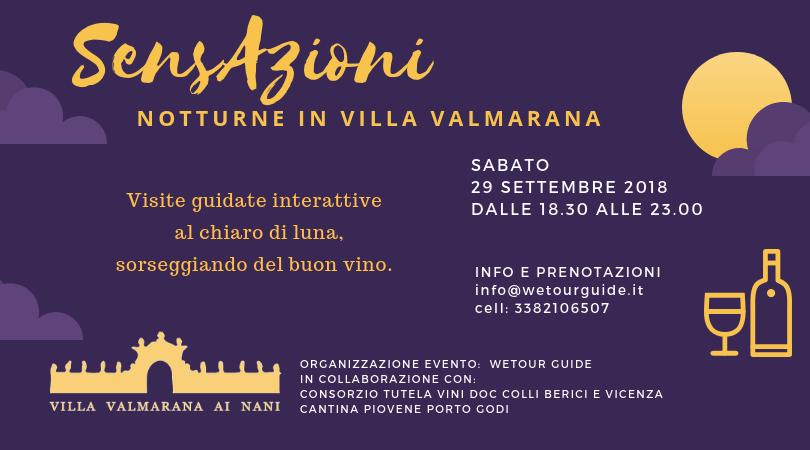 29 Settembre 2018 – SensAzioni in Villa