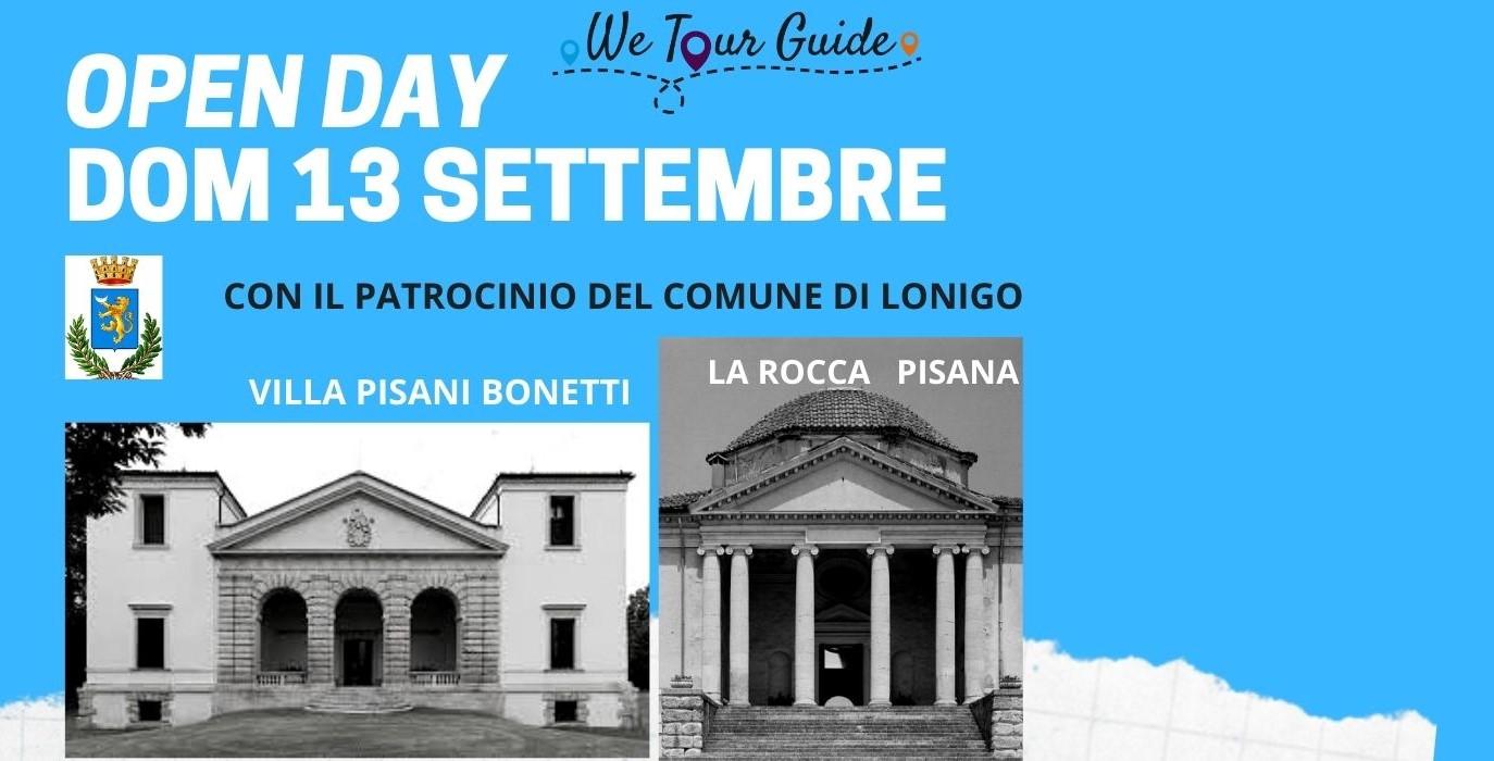 Open Day – Le Ville di Lonigo -13 settembre 2020