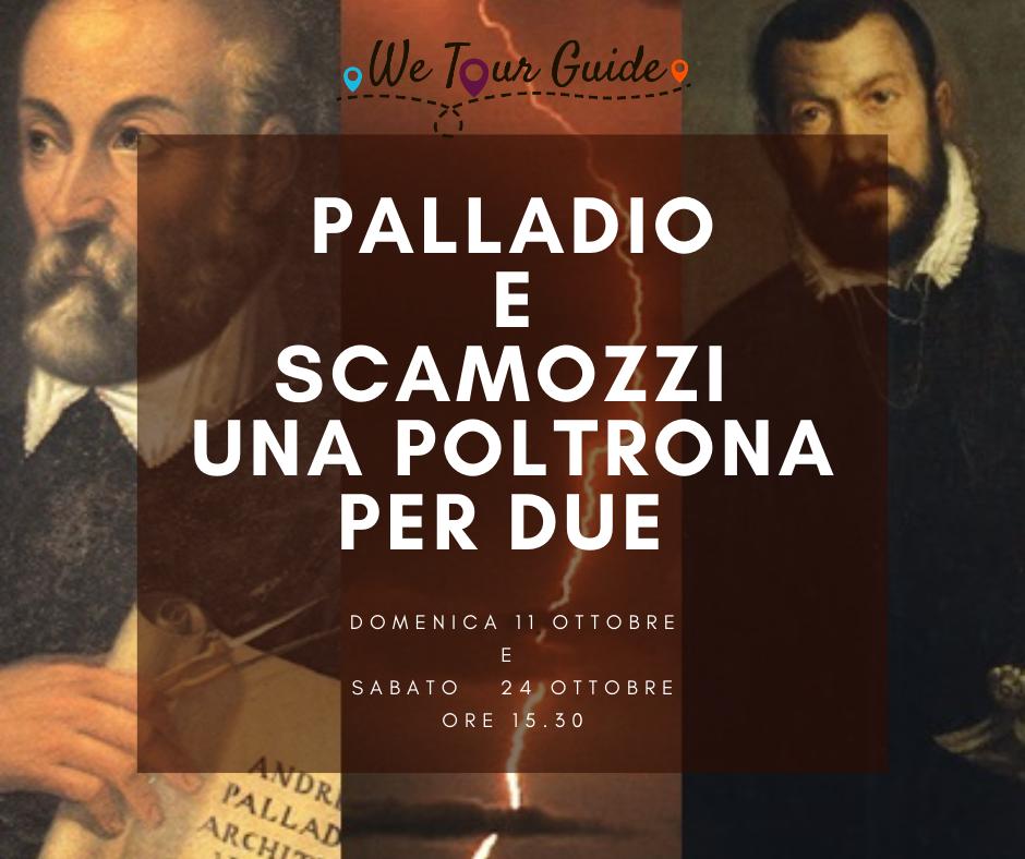 Palladio e Scamozzi. Una poltrona per due