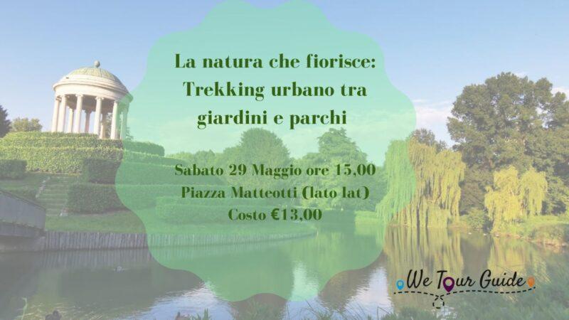 La natura che fiorisce:trekking urbano tra i giardini e i parchi di Vicenza